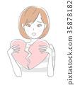 心 女生 女孩 35878182