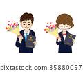 고등학교 졸업 남녀 세트 35880057