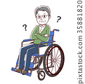 vector, vectors, Wheel Chair 35881820
