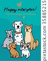 สุนัข,สุนัช,ทักทาย 35885215