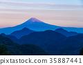 mountain, fuji, mt 35887441