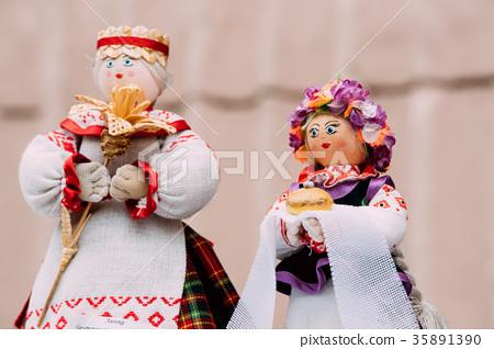 Belarusian Folk Doll. National Traditional Folk 35891390