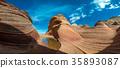 美國亞利桑那州 峽谷 曲線 35893087