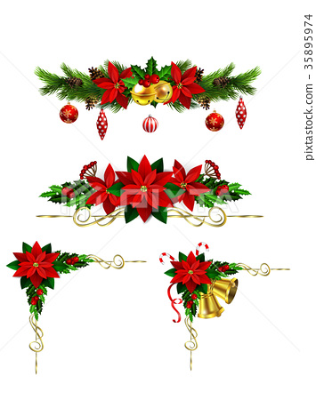 Christmas elements for your designs 35895974