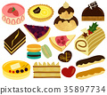 Sweets Cake French Patisserie Set 35897734