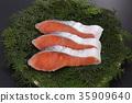 三文魚片 35909640