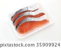 เนื้อปลาแซลมอน 35909924
