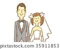 婚禮 新郎 新娘 35911853