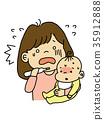 嬰兒 寶寶 寶貝 35912888