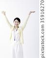 一個年輕成年女性 年輕 青春 35916270