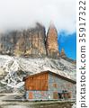 mountain, rock, Clouds 35917322