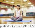 체육관, 여성, 여자 35918177