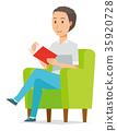벡터, 책, 독서 35920728