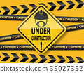 under construction  sign work in progress 35927352