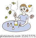 煉油 芳香療法 混合 35927775