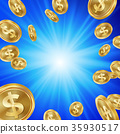 background coin dollar 35930517