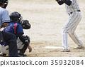 Grass baseball image 35932084