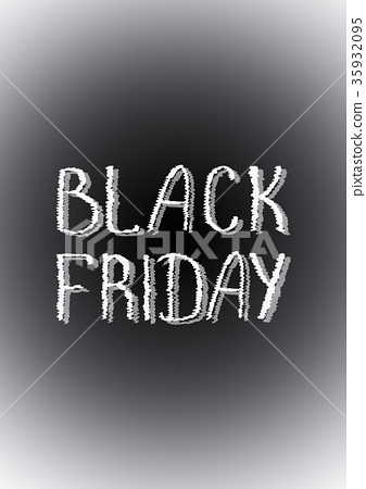 Black Friday sale poster 35932095