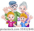 grandparents, family, kids 35932846