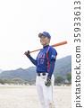 成人棒球圖像 35933613