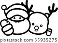 vector, vectors, christmas 35935275