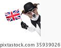 british dog  banner 35939026