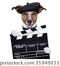 movie clapper board director dog 35940033