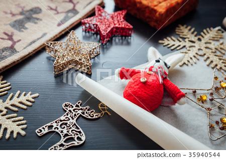 Christmas holiday decorations 35940544