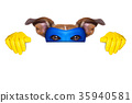 super hero dog 35940581
