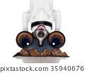 binoculars dog 35940676