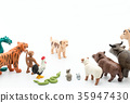 sexagenary cycle, figurine, 12 animals of the Chinese zodiac 35947430