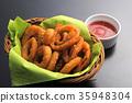 양파, 튀김, 양식 35948304