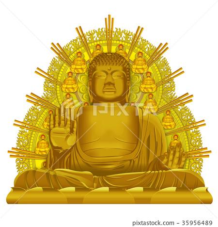 金奈良的大菩萨图象 35956489