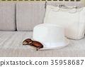 straw hat fashion 35958687
