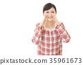 歡呼 一個年輕成年女性 女生 35961673