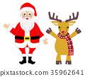 크리스마스, 이브, 순록 35962641