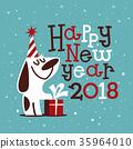 Happy New 2018 Year 35964010