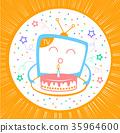 birthday, tv, cake 35964600