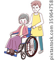 vector, vectors, Wheel Chair 35964758