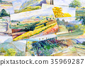 Watercolor paintings photography including memorie 35969287