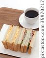 샌드위치, 빵, 식빵 35970217