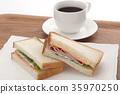 샌드위치, 빵, 식빵 35970250