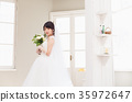 신부 신부 웨딩 사진 여성 35972647