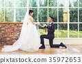 婚禮 結婚 結婚了的 35972653