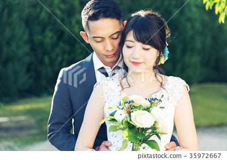 Photo wedding Marriage bride and groom 35972667