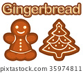 gingerbread, bread, cookie 35974811