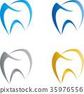 Tooth Drawn, Dentist, Logo 35976556