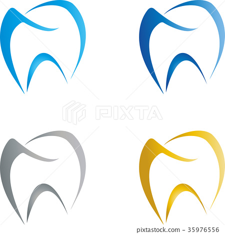 Tooth Drawn, Dentist, Logo 35976556