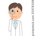 person, white, robe 35978308