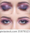 Makeup for blue eyes 35979323